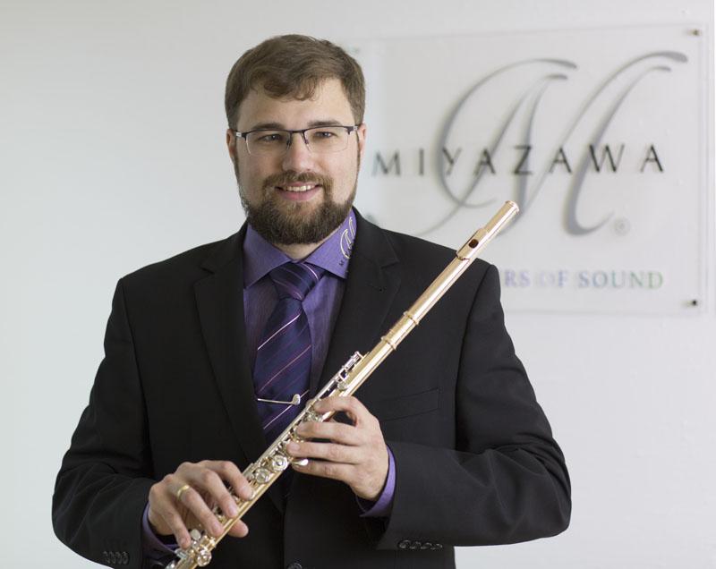 Christian Bach von Miyazawa Flutes Europe