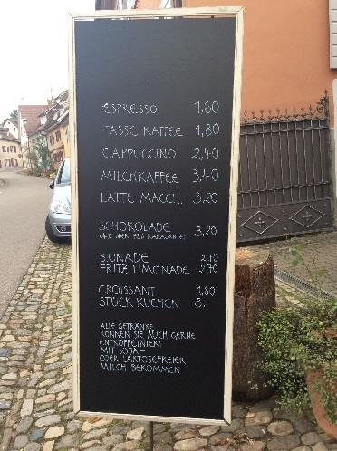Coffee and more - BDB Akademie Hotel in Staufen