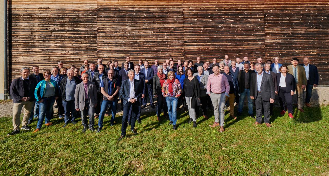 Gruppenbild Hauptversammlung- Bund Deutscher Blasmusikverbaende
