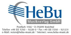 Logo HeBu Musikverlag