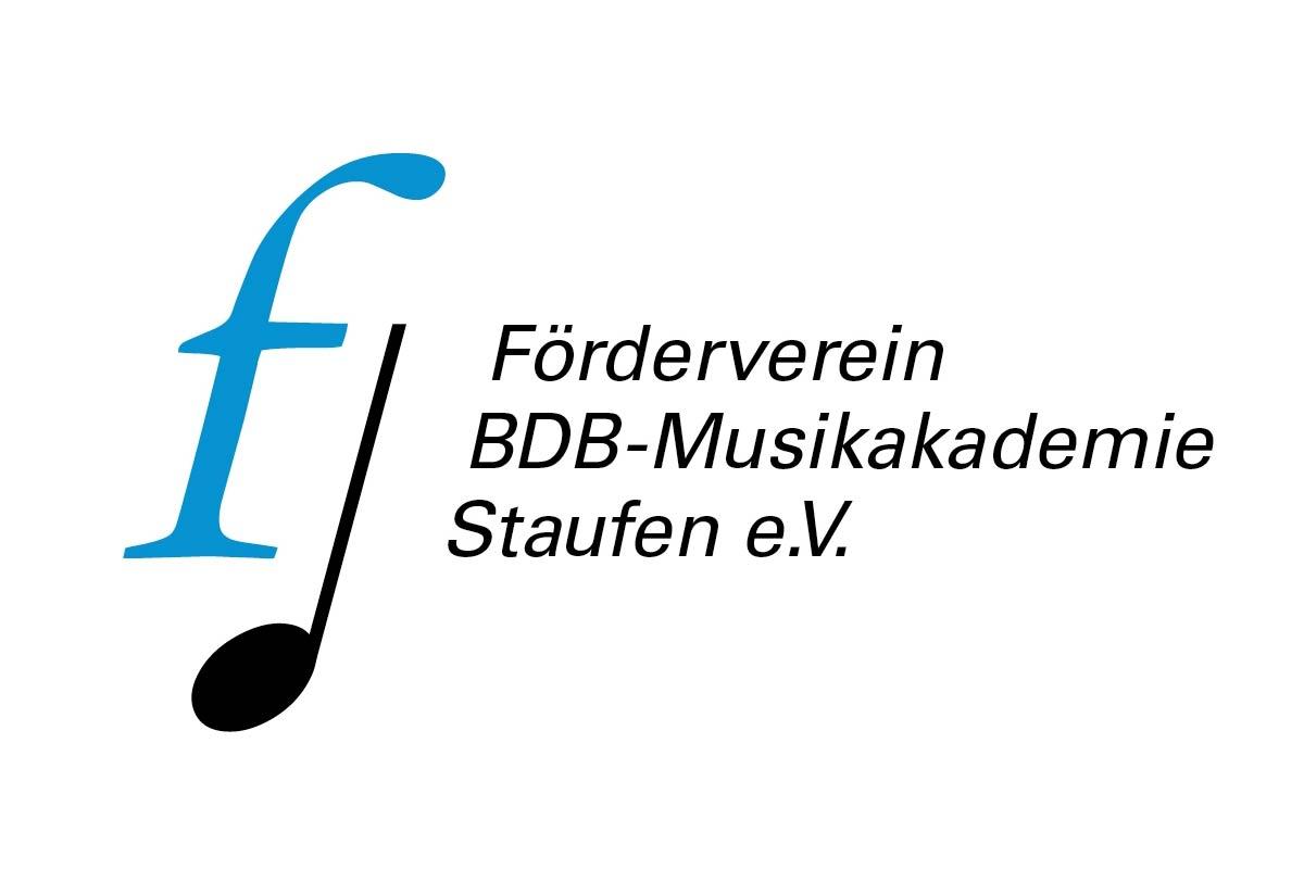 Logo Förderverein BDB Musikakademie Staufen